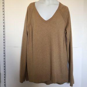 Gap Wool Blend Sweater Camel Color Tan Size Medium